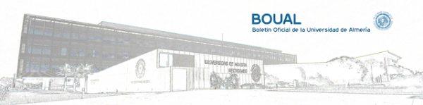 Boletín Oficial de la UAL